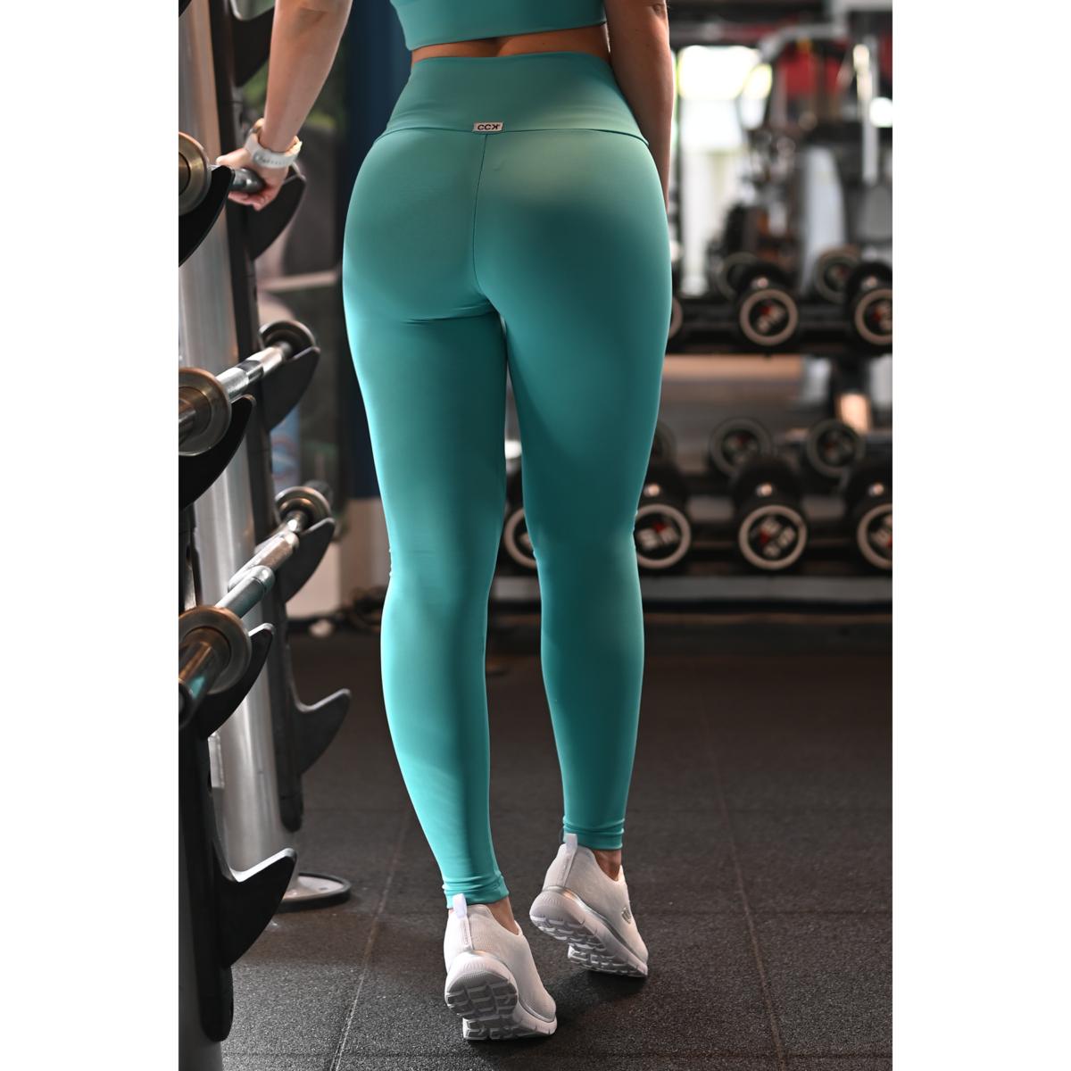 Menta basic magasderekú női fitness sport leggings