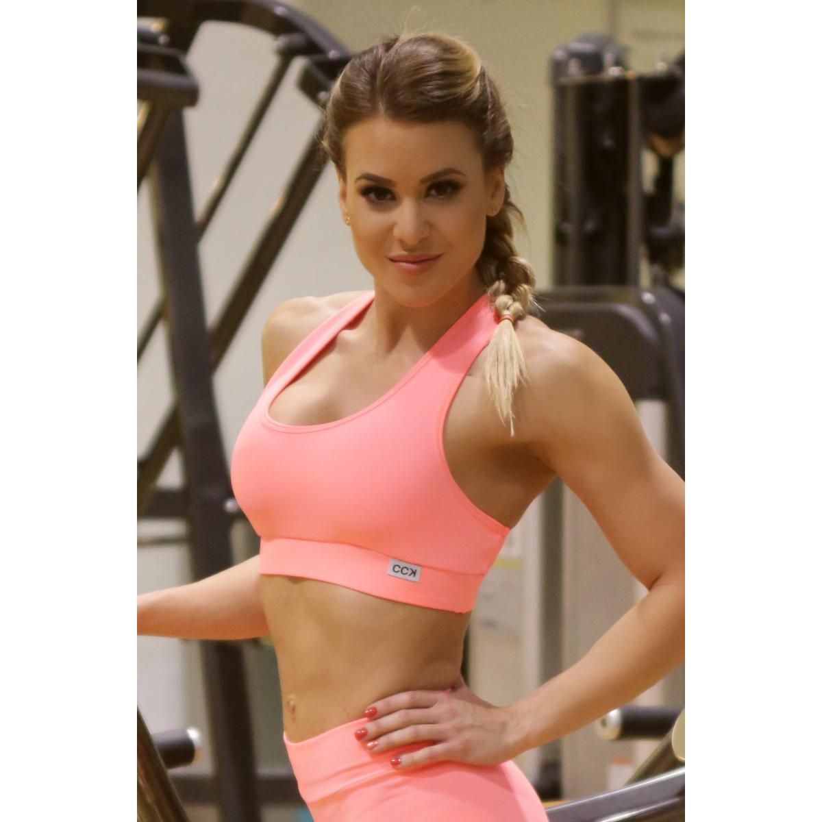 Korall basic női fitness sport top