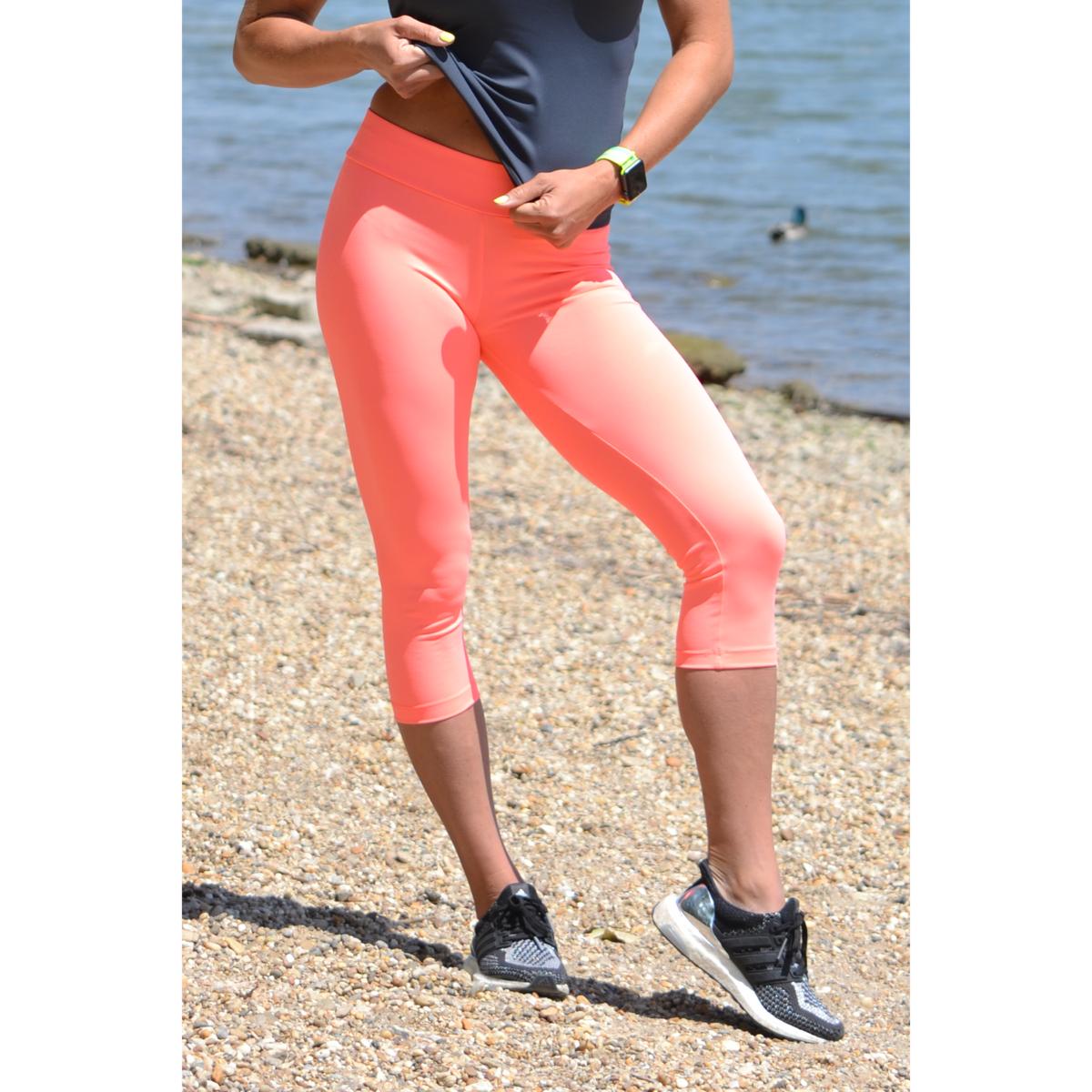Korall basic női fitness sport capri nadrág