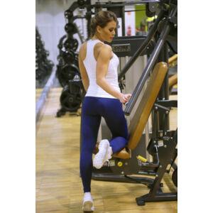 Fehér basic női fitness atléta