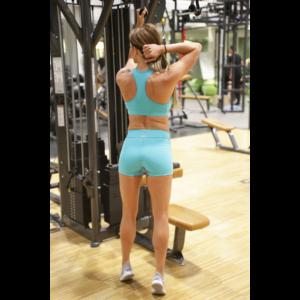 Menta basic női fitness sport short + top szett
