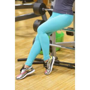 Menta basic női fitness sport leggings + szürke atléta szett