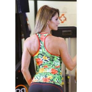 JUNGLE Flame női fitness atléta, PIROS