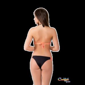 Szexi spagettipántos háromszög bikini