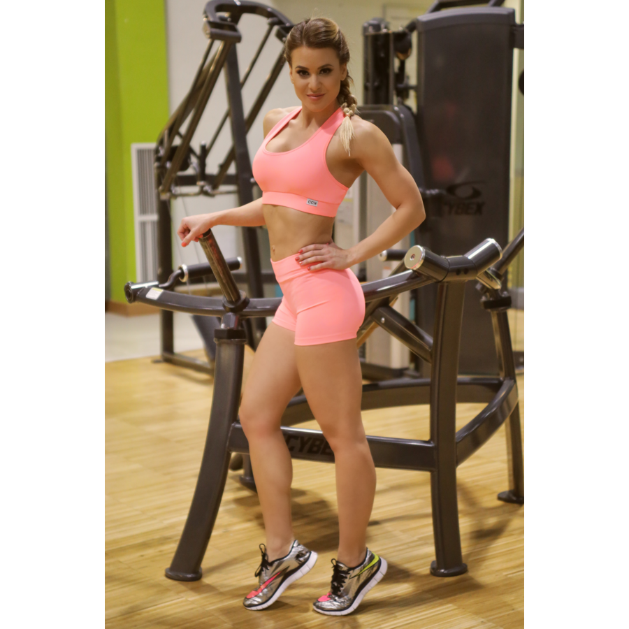 Női basic fitness szett, short+top